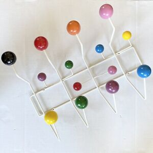 Charles & Ray Eames Herman Miller Eames Hang It All Multi Colored Coat Rack