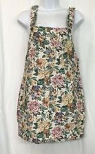 House Of Harlow Short Floral Denim Tapestry Jumper Dress Size S