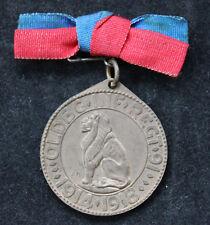 Alte Medaille / Orden Oldenburg Infanterie Regiment 91 / 1914 - 1918 Denkmal
