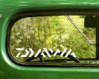 2 DAIWA RODS AND REELS DECALs Sticker Bogo For Car Window Bumper Laptop Truck Rv
