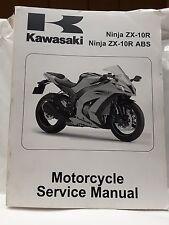 New OEM Kawasaki Service Manual 2011 ZX1000 ZX-10R ABS Ninja 99924-1493-32