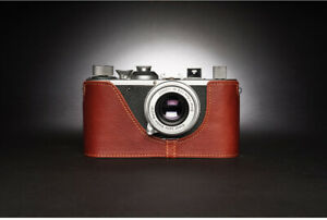 Leather Half Case for Leica Screw Mount (I, II or III Models - Choice of Colours