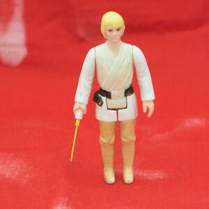 Vintage Star Wars Luke Skywalker Farmboy Action Figure w/ Weapon Lightsaber