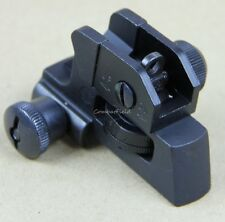 223 detachable Rear Sight Dual apertures A2 rear sight Fits All Flat Tops
