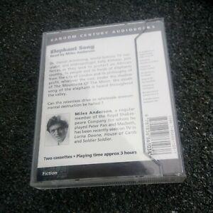 Wilbur Smith audio book Elephant Song cassette
