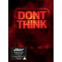 "THE CHEMICAL BROTHERS ""DON'T THINK""  CD+DVD NEU"