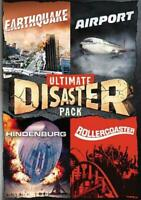 ULTIMATE DISASTER PACK: EARTHQUAKE/AIRPORT/HINDENBURG/ROLLERCOASTER NEW DVD
