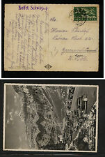 Switzerland  airmail  nice photo card to  US  1939       KL1215
