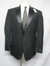 Jos A Bank Men's Black 1 Button Formal Wear Notch Lapel Tuxedo Jacket 42R   AA1