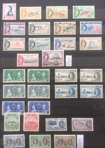 Turks And Caicos. Elizabeth And George Mix On Page. Mint And Used.cv130 In 2017