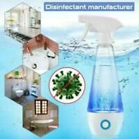 300ml Hypochlorous Acid Machine Disinfection Sterilizing Spray Bottle Electric