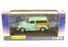 Corgi Va01011 Morris Minor Traveller Bermuda Blue 1 43