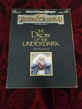AD&D Drow of the Underdark - Forgotten Realms
