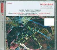Liszt Todtentanz/Rachmaninoff Concerto N.1/Schumann Op.54 - Byron Janis Cd Nuovo