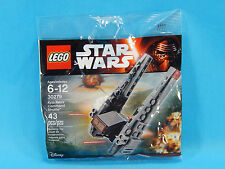 Lego Star Wars Polybag 30279 Kylo Ren's Command Shuttle 43pcs New Sealed 2016