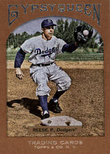 2011 Topps Gypsy Queen Framed Paper #35 Pee Wee Reese #/999 BX 38BBB