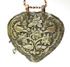 Antique Copper Silver Plated Tribal Jewelry Flower & Peacock Design. G18-25 US