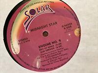 """Midnight Star – Engine No. 9 - Solar – 0-66828 - 1986 - 12"""" Vinyl LP"""