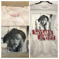 Taylor Swift The Red Tour Concert Womens White T-Shirt Size Small NWT