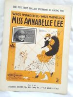 Who's Wonderful-Who's Marvelous Miss Annabelle Lee,Queenie Paul *OZ Variant*1927