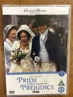 New And Sealed Jane Austen's Pride And Prejudice Episodes  4-6 Dvd