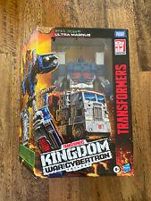 Transformers War for Cybertron Kingdom Leader Class Ultra Magnus Hasbro NEW