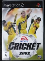 PS2 Cricket 2002 Inc Manual