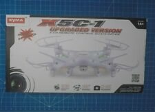 Syma X5C-1 Drone Quadcopter Upgraded Version With Hd Camera, never flown outside