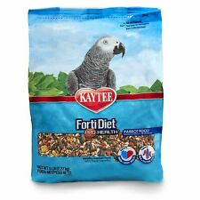 New listing Kaytee Forti Diet Pro Health Bird Food For Parrots 5-Pound