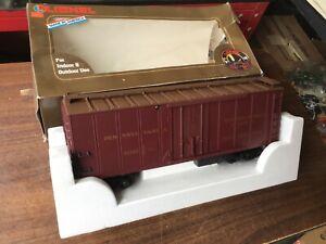 Lionel 8-87101 Pennsylvania REA Reefer EX new old stock, G scale train PRR