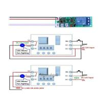 DC 12V Multifunction Self-lock Relay PLC Cycle Timer Delay Switch Module Board