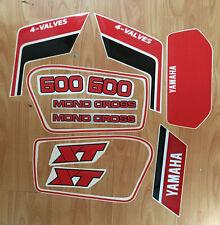 adesivi yamaha xt 600 in vendita | ebay