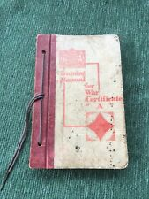 More details for ww2 training manual for war certificate