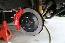 2007-2020 Toyota SOS Big Brake Kit w/ Stoptech 6 Piston calipers TR354.6