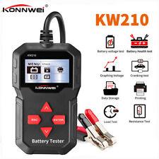 KONNWEI Car Battery Tester KW210 12V Protable Automotive Digital Analyzer Tester