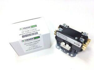 1 Pole A/C Contactor 24 VAC Coil 30FLA 40A RES Central Air-Conditioner Heat Pump