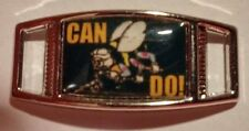 "Lot Of 2 U.S. Navy Construction Battalion SEABEES ""Can Do!"" Shoelace Charms"