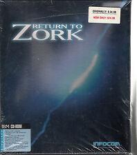 Return To Zork (IBM CD-ROM, 1993) New, Big Box