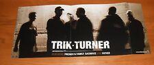 Trik Turner Poster 2-Sided Flat Square 2002 Promo 12x28