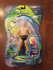 2001 Jakks WWF Wrestling Stone Cold Steve Austin Action Figure,Summer Slam, MISP