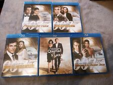 Lot 5 Blu-ray film  James Bond 007 Goldfinger permis de tuer