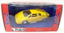 Polistil 1/25 Vintage diecast - 058465 Lamborghini Countach Yellow model car