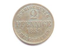 H550    BRAUNSCHWEIG 2 Pfennig 1859