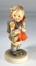 Hummel Goebel Figurine, School Girl, Initialed, 81 2/0, TMK3SS, (1960-72)