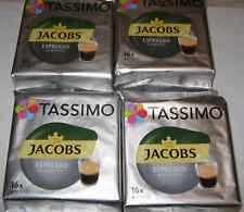 4 Packungen TASSIMO JACOBS ESPRESSO RISTRETTO Discs Heißgetränk MHD Ware
