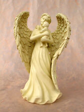 Angel with Baby Figurine Birth Christening Guardian Grave decoration 20020