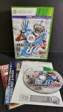 Madden NFL 13 (Microsoft Xbox 360, 2012) Fast Free Shipping