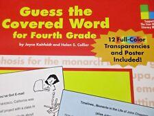 Guess the Covered Word Fourth Grade Carson-Dellosa Pub. PB 2000 Transparencies