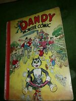 Dandy monster comic 1943  Very good condition Quite rare7
