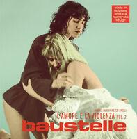 2 LP 33 LMT EDT NUM Baustelle L'Amore E La Violenza Vol. 2 Atlantic SIGILLATO